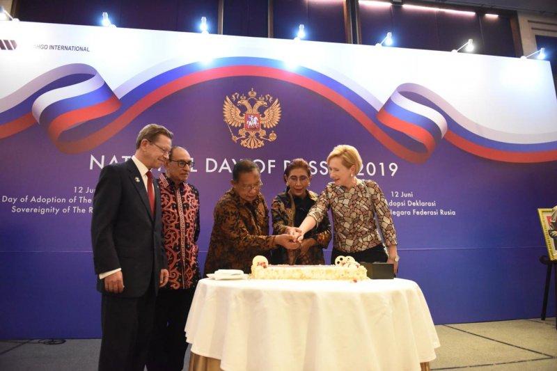Indonesia-Rusia terus perkuat kerja sama bilateral ekonomi dan budaya