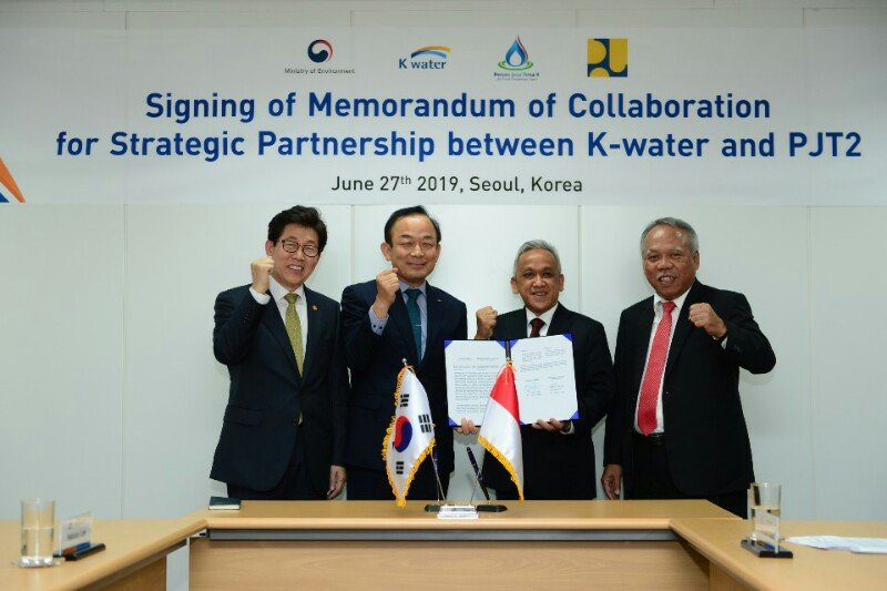 Jasa Tirta II dan perusahaan Korsel menjalin kerja sama pengelolaan air