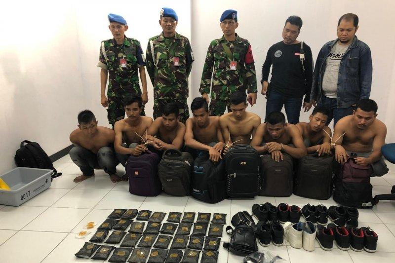 Petugas gagalkan penyelundupan empat kg sabu-sabu di Bandara Pekanbaru
