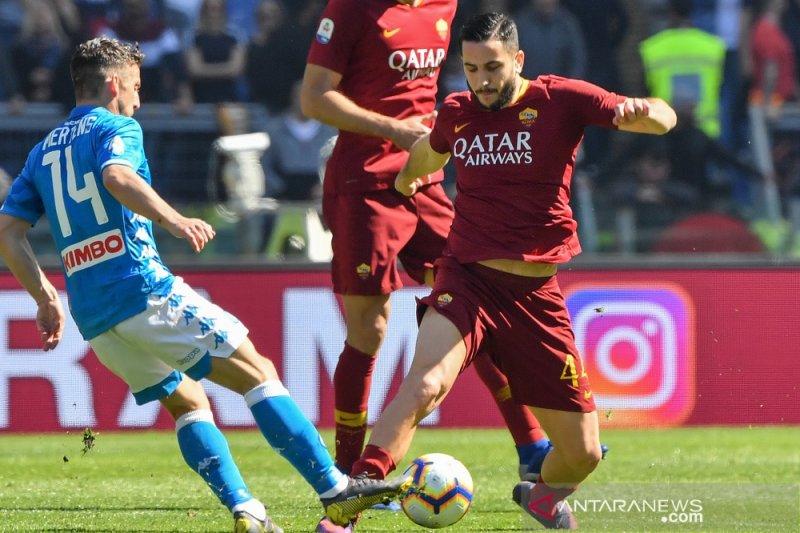 Napoli kontrak Kostas Manolas sampai 2024