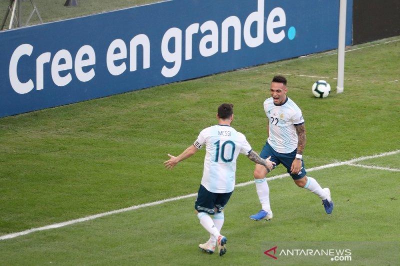 Argentina bertemu Brasil di semifinal setelah tekuk Venezuela 2-0