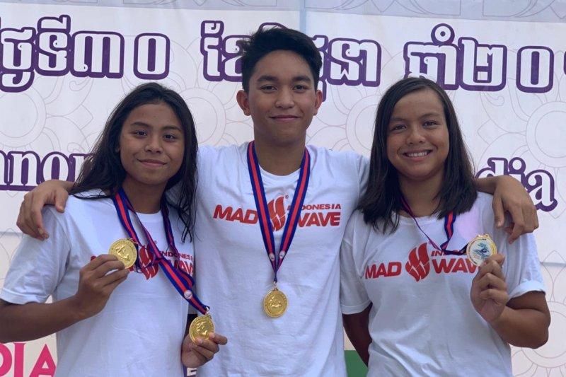 Indonesia tambah empat emas kejuaraan renang junior Asia Tenggara