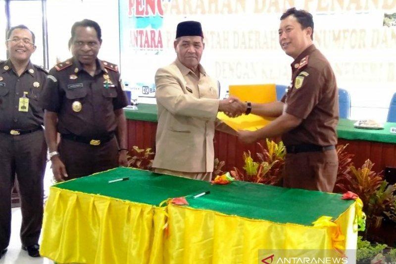 TP4D Kejaksaan Biak Numfor lakukan pendampingan pengawasan proyek pembangunan Supiori