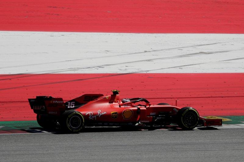 Posisi start balapan Formula 1 di GP Austria