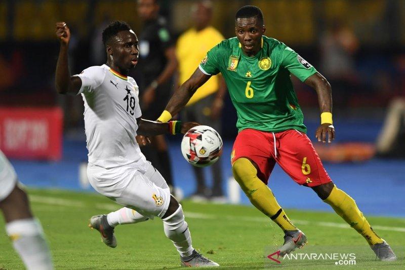 Ghana imbangi juara bertahan Kamerun