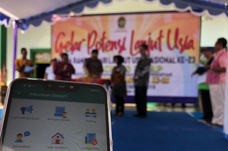 Yogyakarta meluncurkan aplikasi Sikap percepat penanganan KDRT