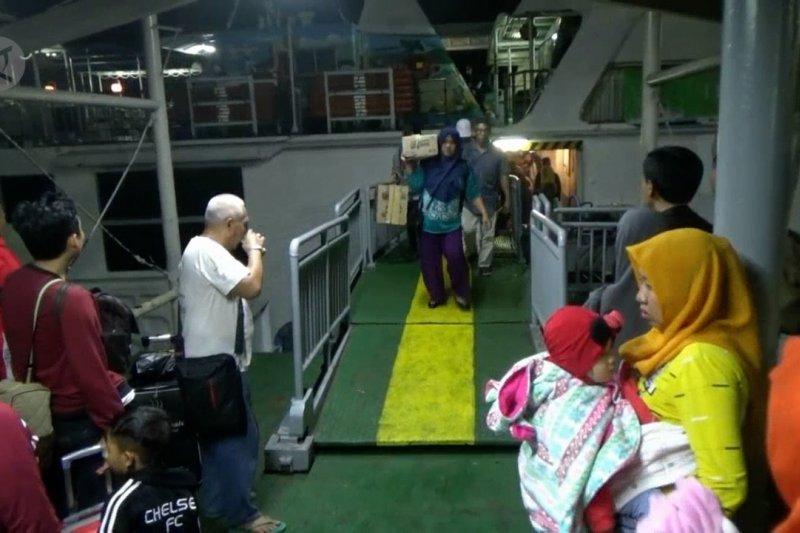 Baru 10% pemudik di Sumatera kembali ke Jawa