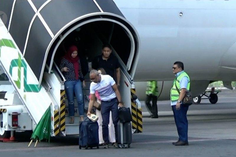 Penurunan penumpang transportasi udara di Yogyakarta paling sedikit