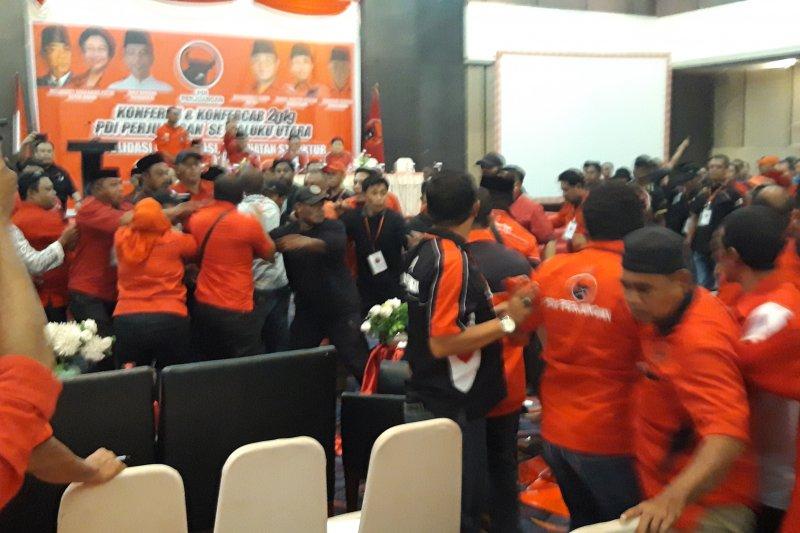 Ricuh, Konferda PDIP di Maluku Utara