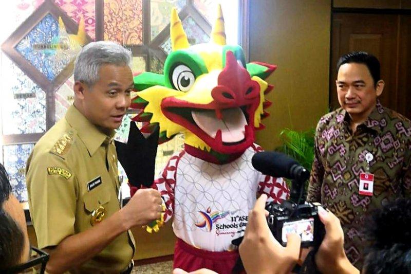 LPDUK laporkan persiapan ASG 2019 ke Gubernur Jawa Tengah