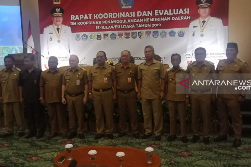 Wabup Sangihe hadiri Rakor dan Evaluasi Tim Koordinasi PKD di Manado