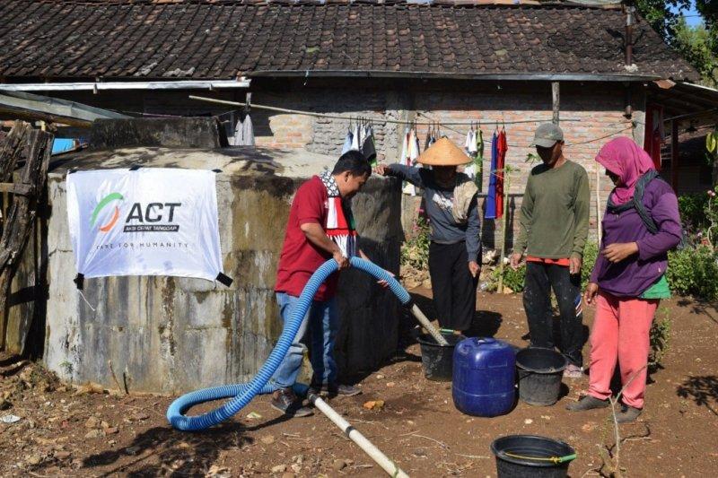 ACT siap pasok air bersih untuk daerah kekeringan