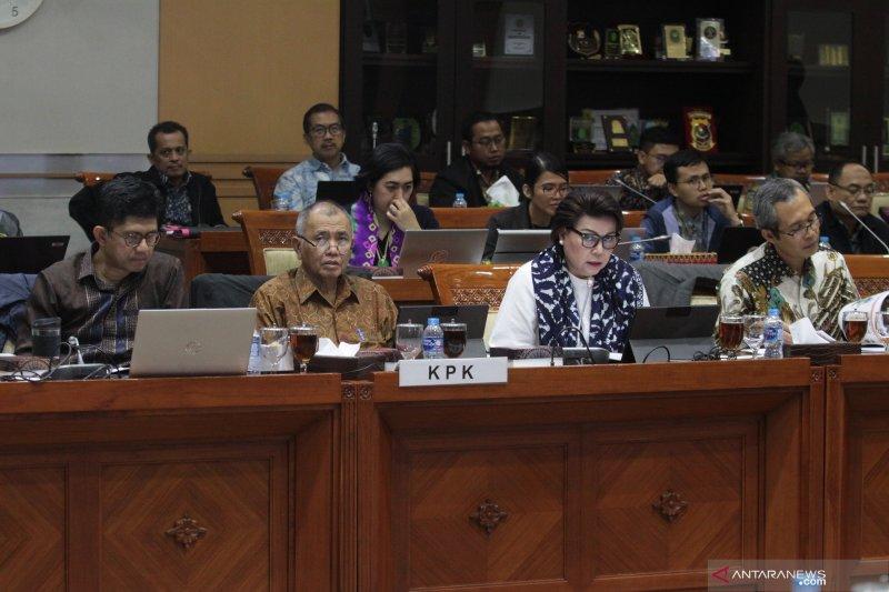 RDP KPK dengan Komisi III DPR