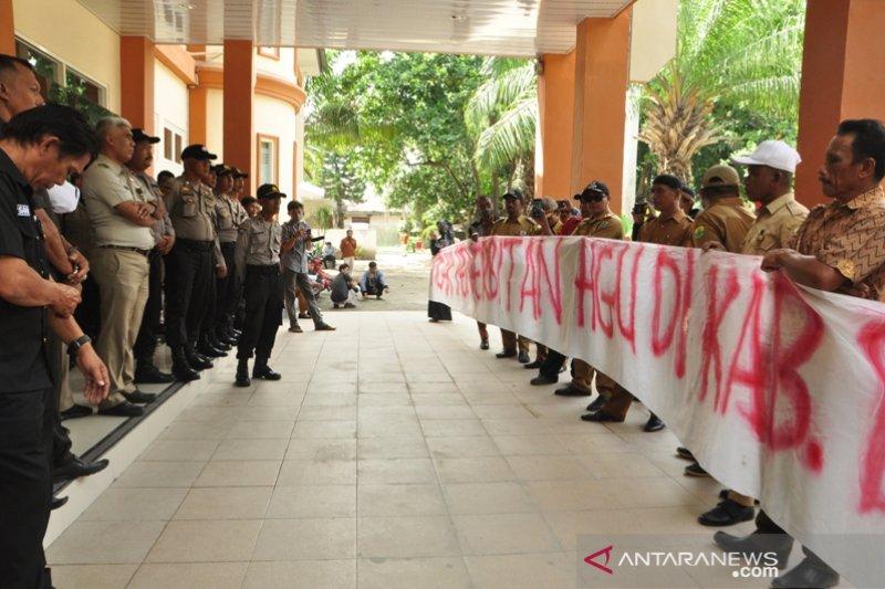 Warga Buol demo di BPN Sulteng, minta HGU PT Hardaya tidak diperpanjang
