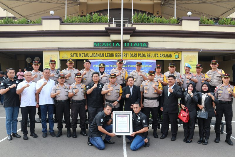 LEMKAPI apresiasi pengungkapan 15 kilogram sabu oleh Polres Jakut