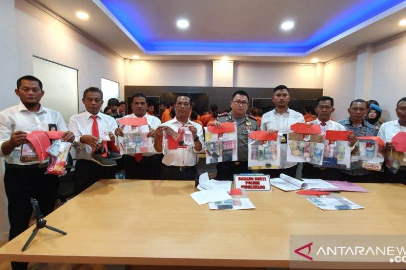 Polres Singkawang amankan 25 tersangka selama Operasi Pekat Kapuas
