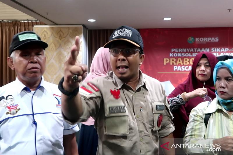 Pendukung inginkan Prabowo-Sandi istiqomah jadi oposisi