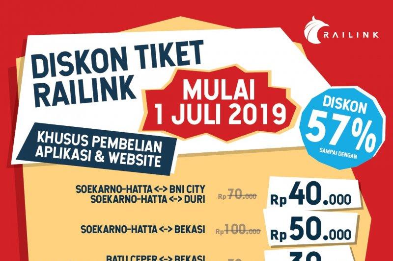 KA Bandara Soekarno-Hatta beri diskon harga sampai 57 persen