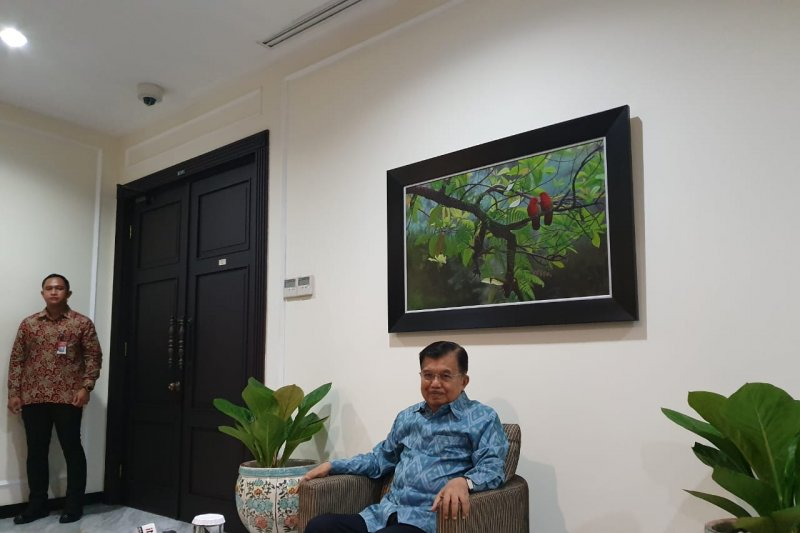 Prediksi JK terkait komposisi menteri Jokowi-Ma'ruf Amin