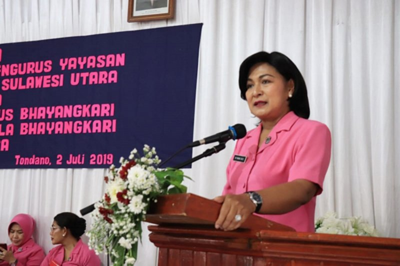 Ketua Bhayangkari Sulawesi Utara ingatkan pentingnya silaturahim