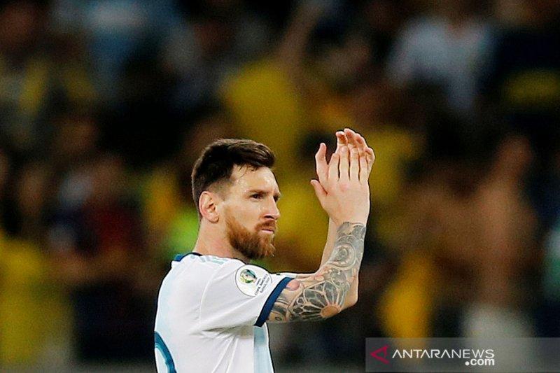 Lionel Messi berjanji untuk terus membela Argentina