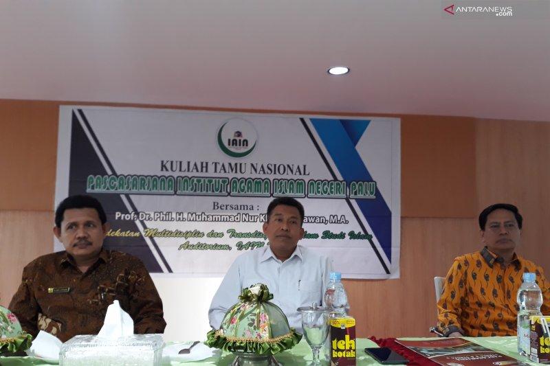 Sekjen Kemenag jadi narasumber kuliah tamu nasional di IAIN Palu