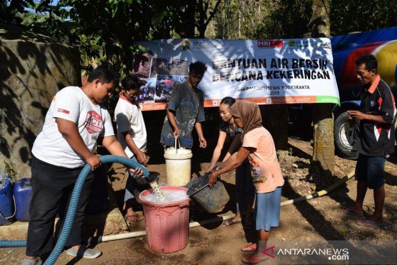 ACT mendistribusikan 50 ribu liter air bersih ke Gunung Kidul