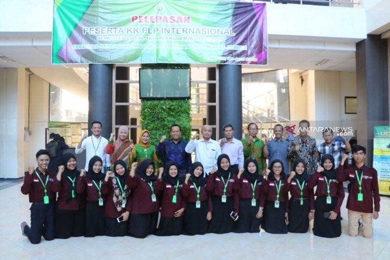 FKIP Universitas Jember kirim mahasiswa ke Thailand sebulan