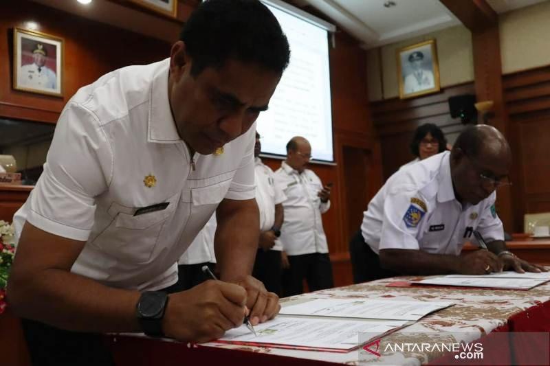 Pemprov Papua Barat dan Papua tandatangani nota kesepahaman terkait e-government