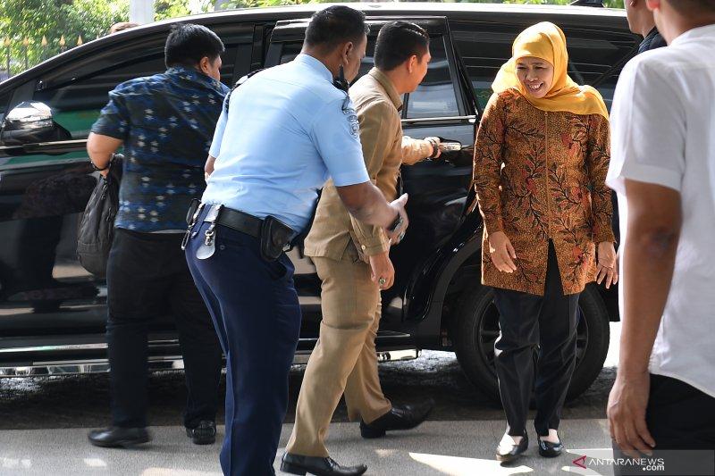 Khofifah tiba di Pengadilan Tipikor
