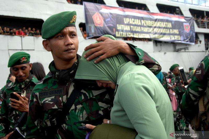 Pengiriman pasukan TNI pengaman perbatasan RI-Papua Nugini
