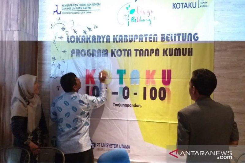 Pemkab Belitung targetkan bebas dari kawasan kumuh