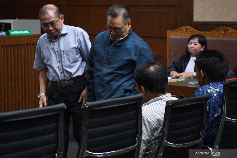 Sidang pembacaan putusan kasus suap DPRD Kalimantan Tengah