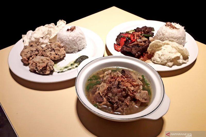 Tiga hidangan buntut sapi premium di Restoran A Xpress Palangka Raya