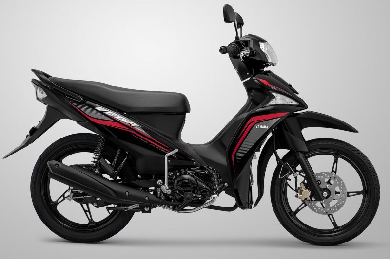 Yamaha Vega hadir dengan tampilan lebih sporty