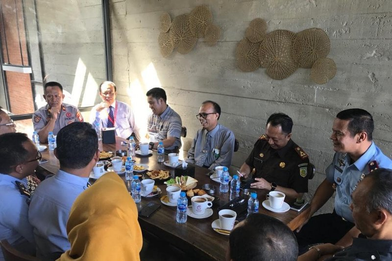 Rutan Makassar perkuat sinergitas antarpenegak hukum