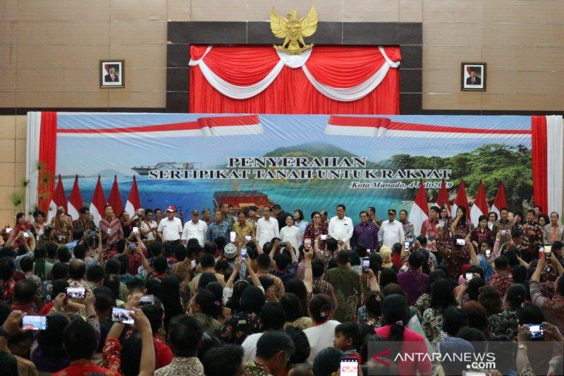 Pesan Presiden Jokowi bagi warga Sulut setelah putusan MK