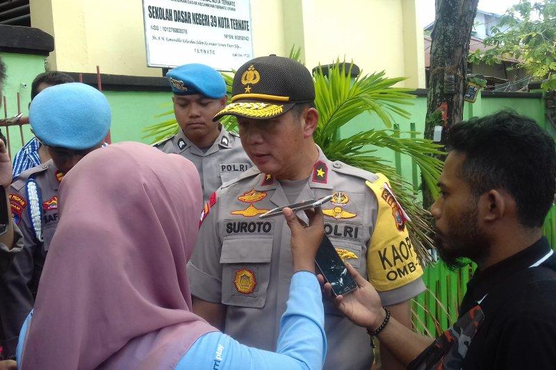 Polda Malut beri sanksi ke oknum penerimaan anggota Polri