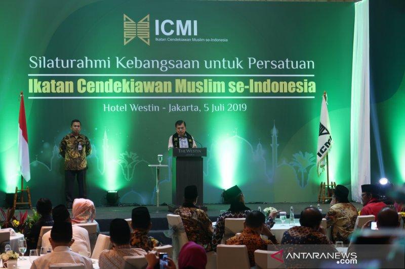 Wapres JK hadiri silaturahmi ICMI bahas pertemuan dengan Prabowo