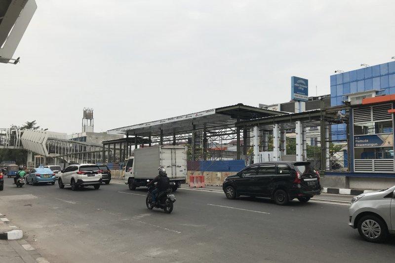 Skrybride stasiun LRT Velodrome ditargetkan beroperasi bulan ini