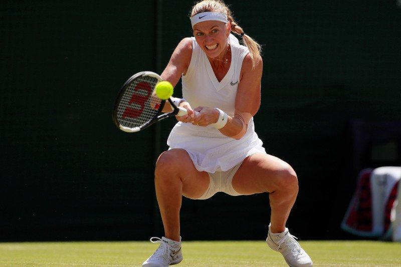 Petenis Ceko Petra Kvitova tersingkir di putaran dua US Open