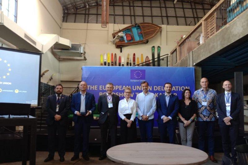 UE Fokus kerja sama pengurangan karbon di Makassar