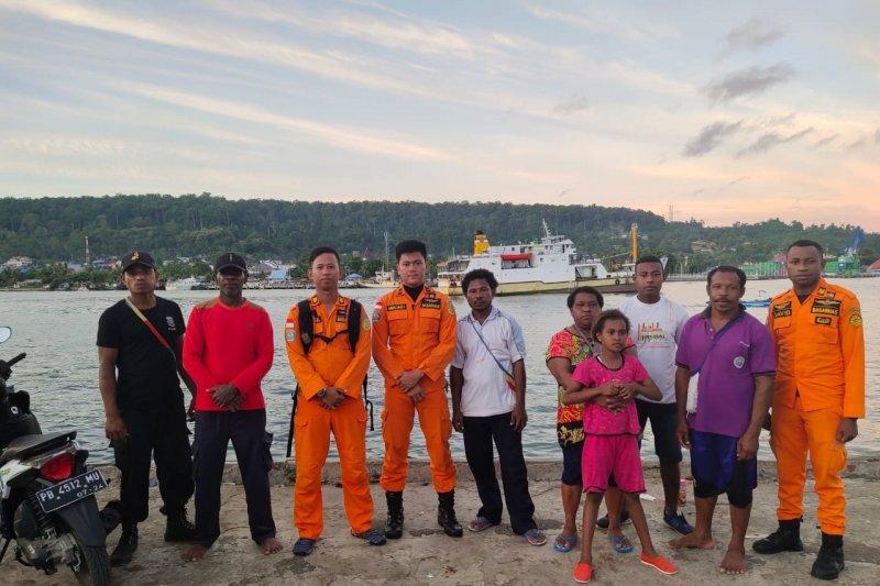 Lima penumpang perahu Numfor-Manokwari ditemukan selamat