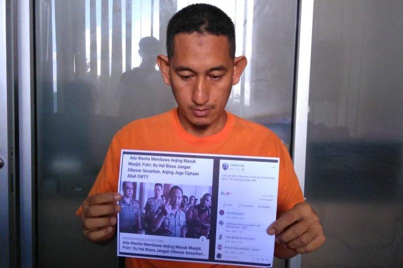 Pelaku penyebar hoaks sampaikan permintaan maaf pada Kapolri