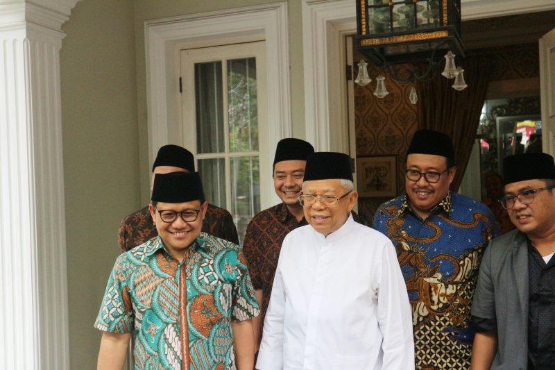 Cak Imin minta dukungan Ma'ruf Amin untuk jadi Ketua MPR