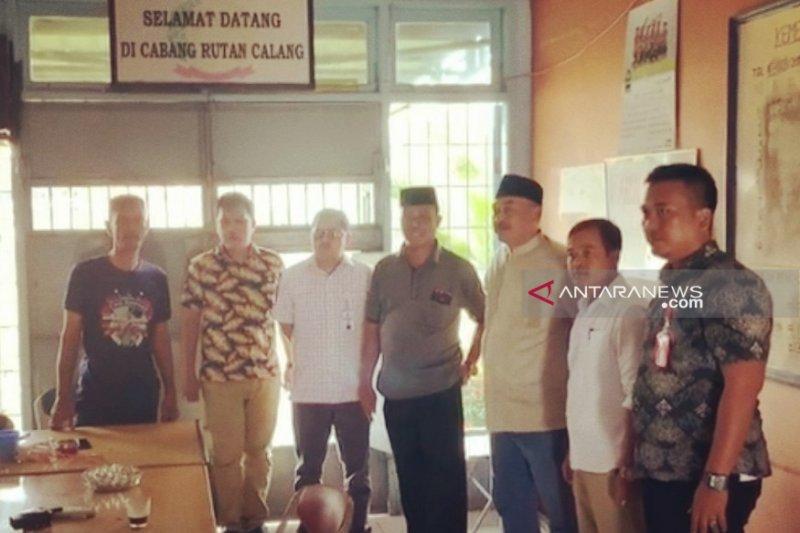 Ketua DPRK Nagan Raya Aceh dieksekusi ke Rutan Calang