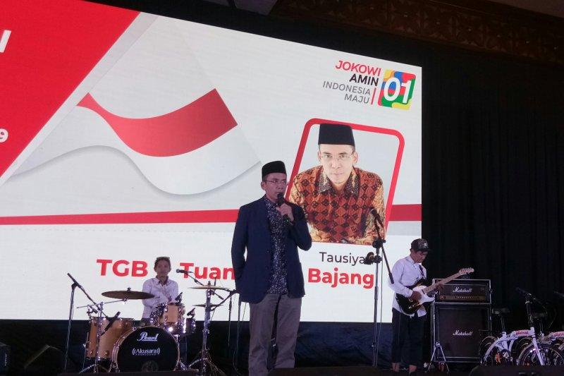TGB ajak relawan kawal pemerintahan Jokowi-Ma'ruf Amin