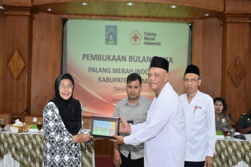Bulan dana PMI Sleman menargetkan 1.200 kantong darah