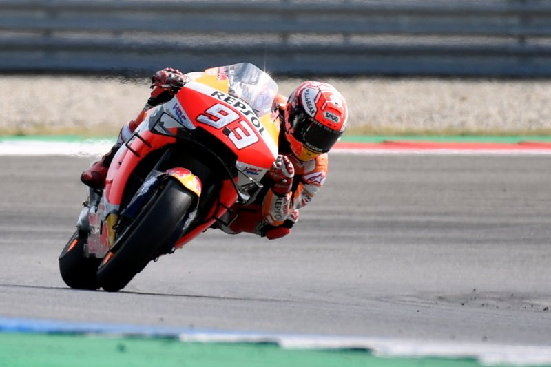 Marquez pebalap teratas di sesi latihan FP2 GP Jerman