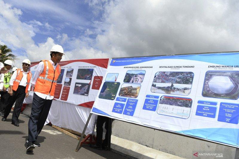 Ada Tol Manado-Bitung, Presiden berharap wisata Sulut berkembang pesat